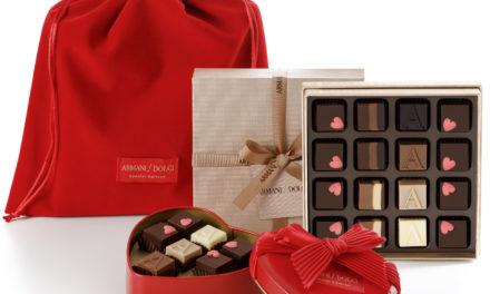 Dolce San Valentino. I cioccolatini firmati Armani