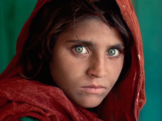 Icons. Steve McCurry a Pavia