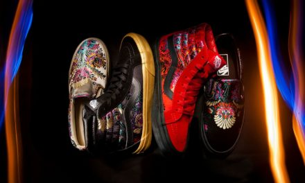 "Vans all'orientale con ""Satin Brocade"""